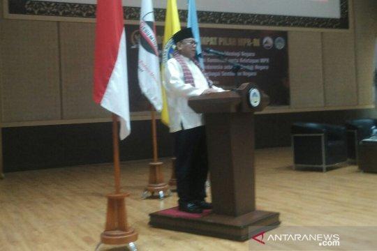 Wakil Ketua MPR ajak masyarakat jaga keamanan-ketertiban jelang pemilu