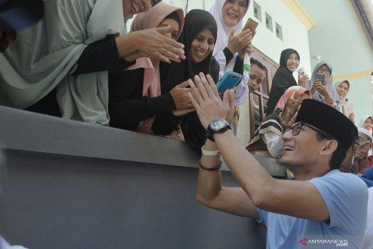 Sandiaga Uno tak pasang target suara di Bali