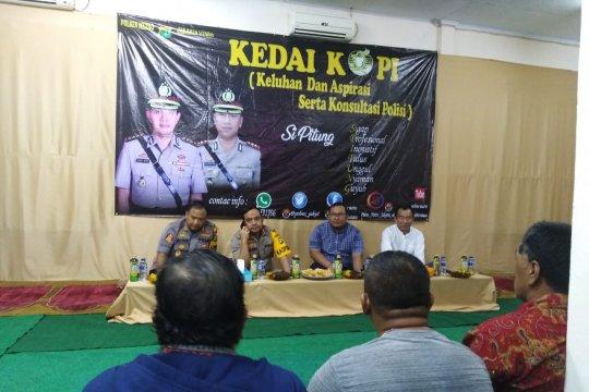 Warga Jakarta Utara-Polisi gelar diskusi keamanan wilayah