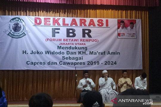 FBR Jakarta Utara deklarasi dukungan kepada Jokowi-KH Ma'ruf Amin