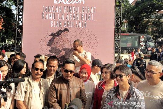 """Ridwan Kamil dan Menpar resmikan """"Sudut Dilan"""""""
