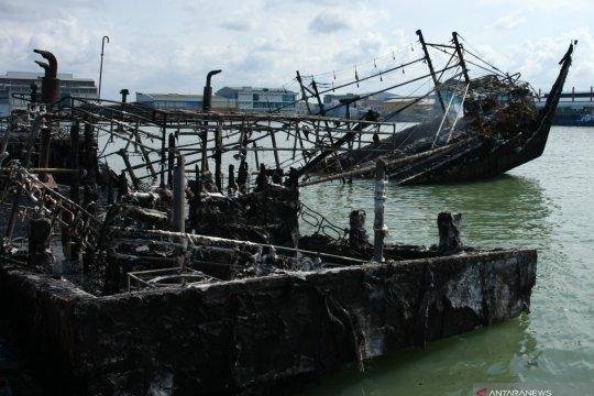 Gelar perkara kebakaran kapal tunggu hasil forensik