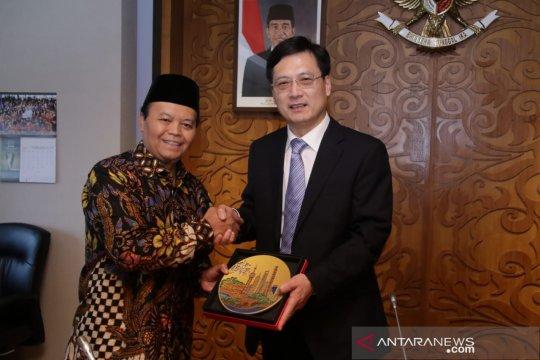 Pimpinan MPR terima delegasi Majelis Rakyat Tiongkok
