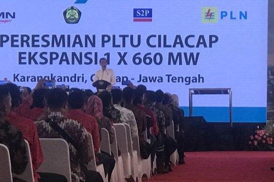 Presiden tak ingin listrik tergantung pada energi fosil