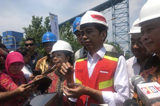 Jokowi sebut akan bagi-bagikan lahan yang dikembalikan ke negara