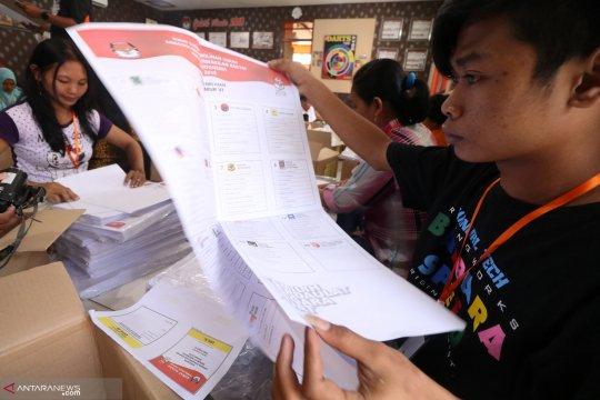 KPU Pati mulai sortir surat suara Pilpres 2019