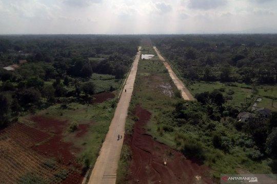 Pembangunan jalan mangkrak