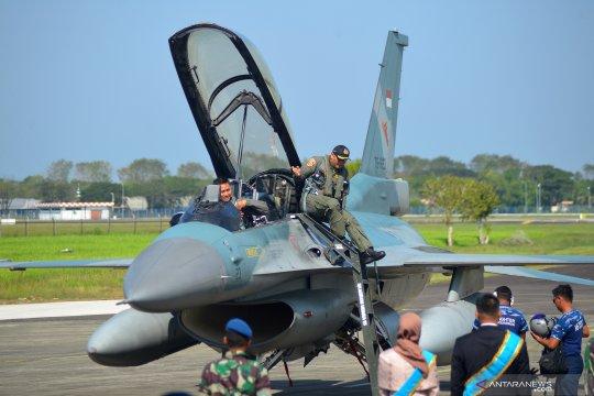 TNI AU patroli udara di Aceh