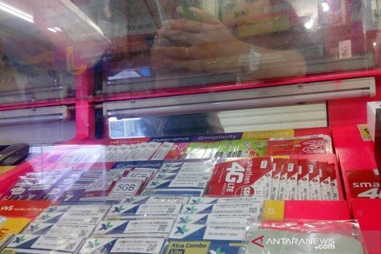 Tanggapan pedagang soal pengetatan registrasi kartu perdana
