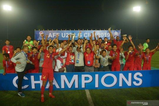 Indonesia raih Piala AFF U-22