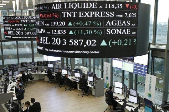 Indeks CAC-40 Prancis berakhir turun 0,87 persen