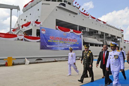 Penyerahan kapal perang Teluk Lada-521