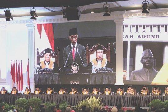 Presiden dukung MA kembalikan kepercayaan masyarakat terhadap peradilan