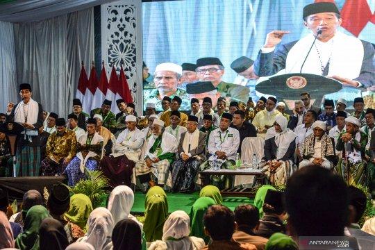 Presiden membuka Munas Alim Ulama Konbes NU