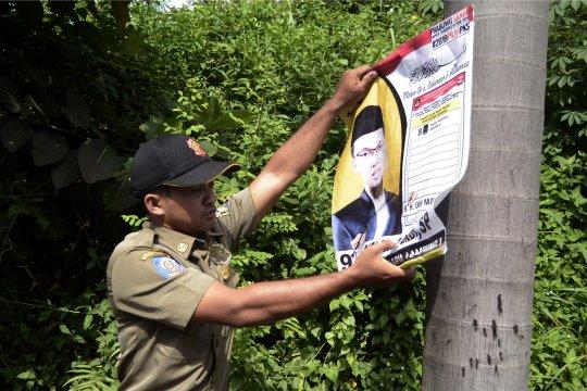 Bawaslu Tangerang sesalkan caleg pasang APK di pohon