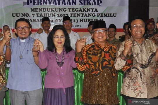 Pernyataan sikap tokoh agama di Banten