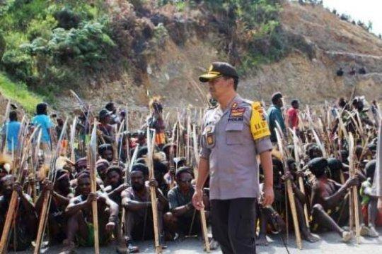 Kapolres Puncak Jaya klarifikasi soal video pembakaran surat suara