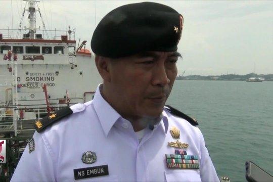 Bakamla tangkap kapal tanker bermuatan BBM di Batam