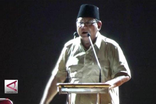 Prabowo : Uang WNI banyak mengalir ke luar negeri