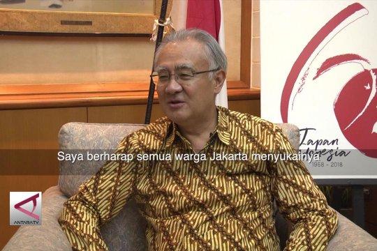 Dubes Jepang Masafumi Ishii bicara MRT Jakarta (2)