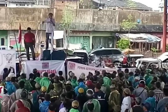 Forum Becak Tasikmalaya, deklarasi dukung Jokowi Ma'ruf Amin