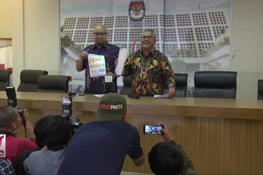 KPU Rilis penambahan 32 Caleg Mantan Napi kasus koruptor