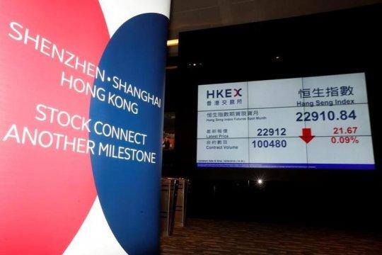 Bursa Hong Kong melemah, Indeks Hang Seng ditutup turun 33,28 poin