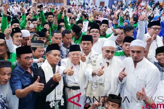 Ma'ruf Amin minta dukungan warga Jakarta