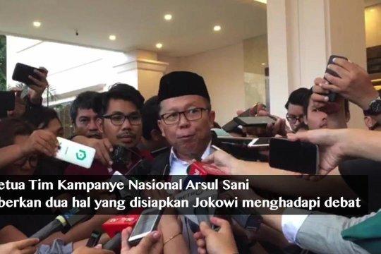 Kiat Jokowi hadapi debat kedua