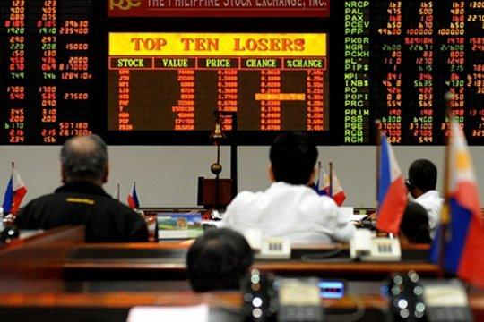 Saham Filipina ditutup naik 0,44 persen