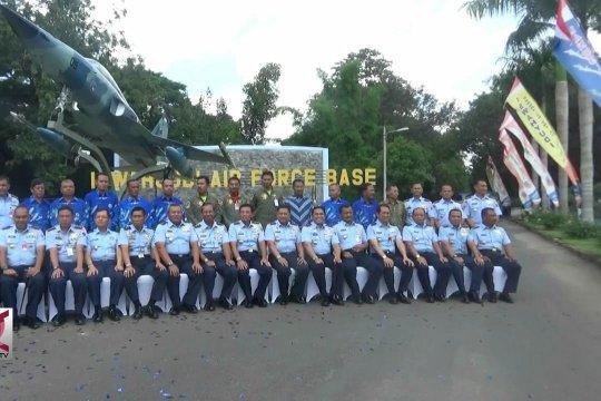 KSAU Resmikan Monumen Pesawat Tempur F-5 di Lanud Iswahjudi