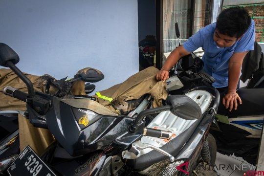 Antisipasi teror pembakaran kendaraan, polisi lakukan patroli skala besar