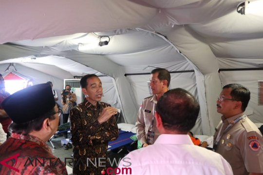 Presiden minta rencana pembangunan daerah pertimbangkan risiko kebencanaan