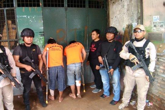 Polisi tembak kaki dua pencuri motor di Tambora