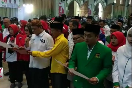 Mbah Maemoen ajak petani dukung Jokowi-Ma'ruf Amin