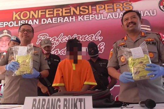 Polisi Bergerak Cepat, Pengendali Kurir Sabu Dibekuk