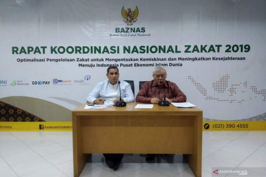 Baznas gelar Rakornas Zakat 2019 bahas pengelolaan zakat