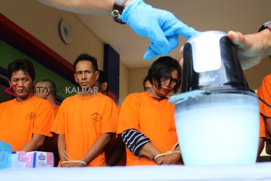 Polres Nunukan musnahkan 11,5 kilogram sabu-sabu dari 20 tersangka