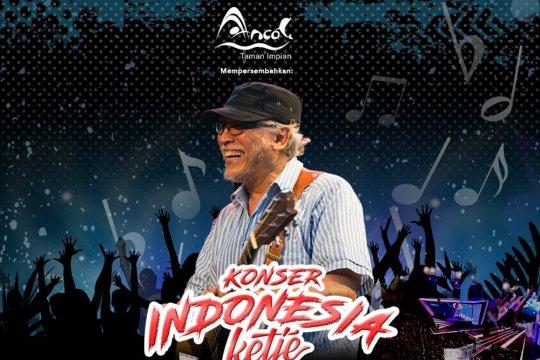 Konser Iwan Fals dan Jamrud di Ancol sore ini