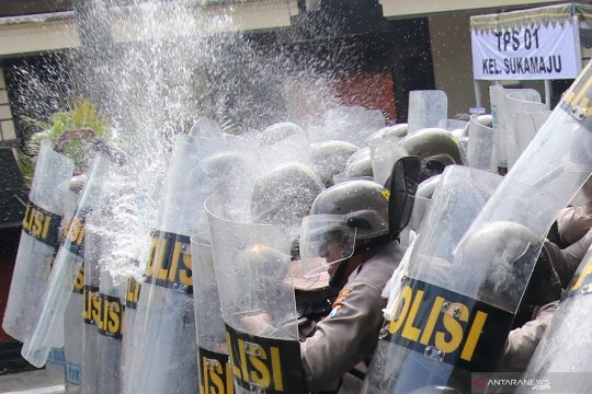 Pengamanan menyambut pesta demokrasi