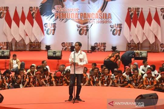Relawan Jokowi targetkan 35 persen suara di Sumbar