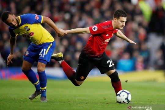 AC Milan rampungkan peminjaman Diogo Dalot dari Manchester United