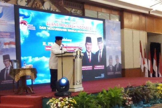 Prabowo: Era Orba memungkinkan anak muda berkarya