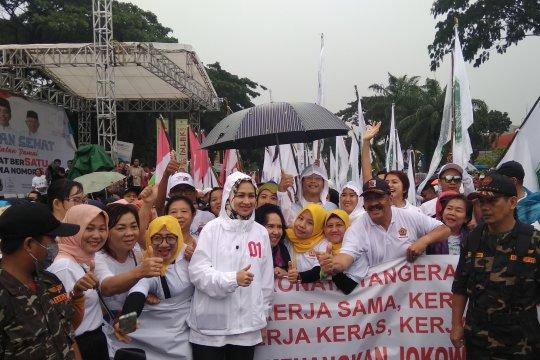 Airin optimis Jokowi-Ma'ruf raih 75 persen suara di Tangerang Selatan