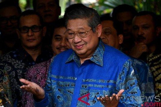 SBY minta Demokrat tidak terlibat kegiatan bertentangan konstitusi