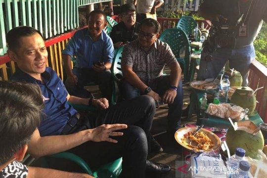 AHY berharap kehadirannya di Aceh mampu optimalkan suara Demokrat