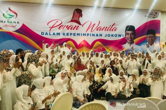 Dukung Jokowi-Ma'ruf, Akhawat Hadana berkomitmen berantas hoaks dan fitnah