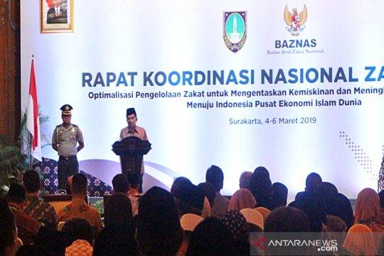 Wapres berharap Baznas kerjasama dengan negara lain