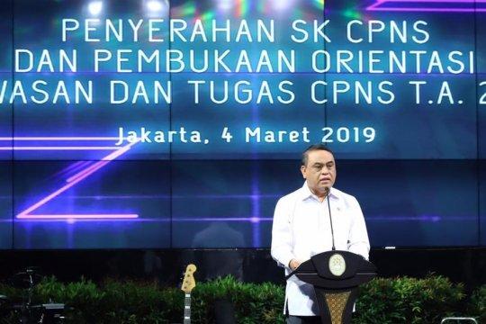 Menteri Syafruddin sebut ASN harus berpikir logis kritis dan inovatif