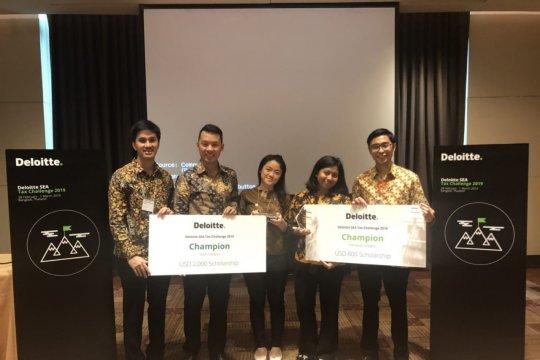 Kompetisi Pajak Asia Tenggara dijuarai mahasiswa UI